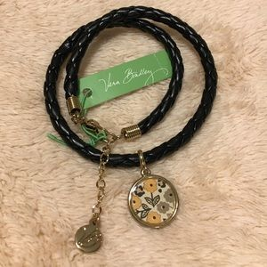 Vera Bradley Braided Charm Bracelet